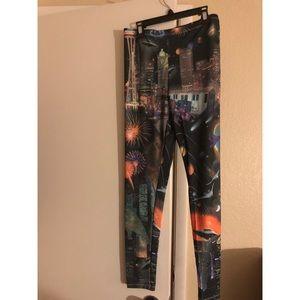 Freeze Printed leggings